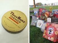 アンティークThree NunsシガレットTIN缶-1(a0100076)