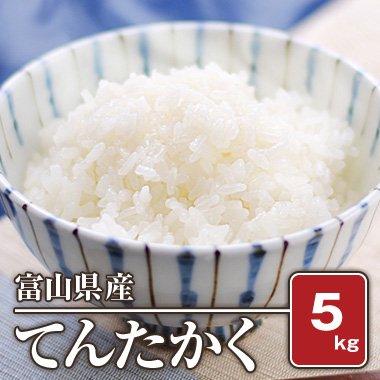 富山県産 てんたかく(28年産)  5kg【白米】