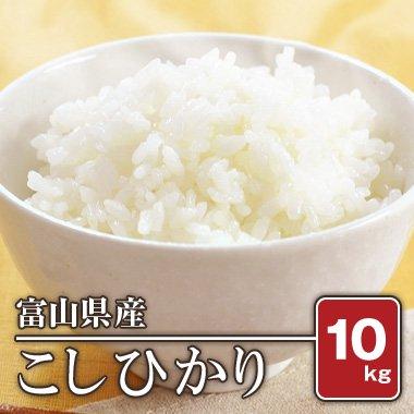 富山県産 こしひかり(29年産) 10kg【白米】[通販商品]