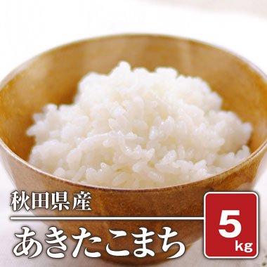 秋田県産 あきたこまち(28年産) 5kg【白米】