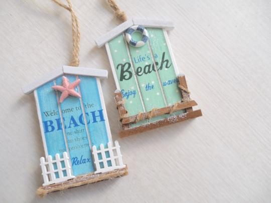 KURTS ADLER beach cottage ornament
