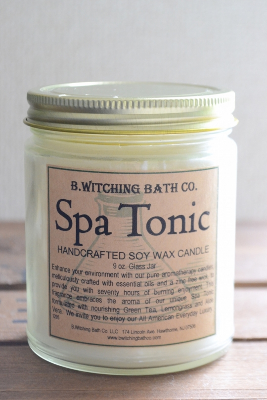 B.Witching Bath Co. soy wax candle
