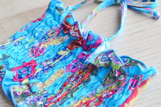 SUBMARINE paisley design swim wear