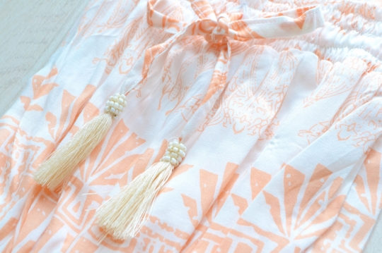 CHACH oriental design OP,rompers,tunic