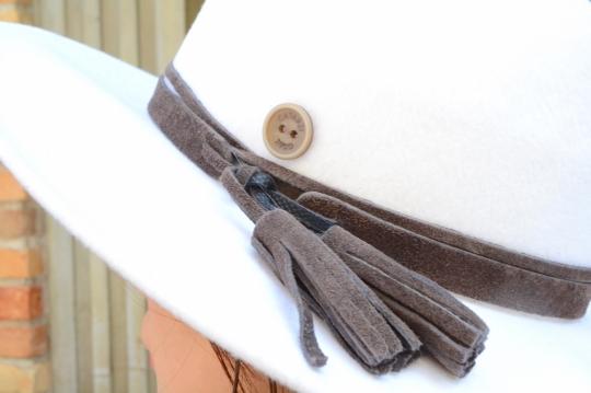 CATARZI wool white Hat