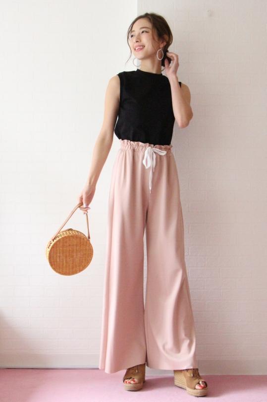 SERPUI round straw bag