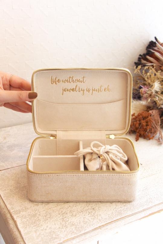 SHIRALEAH natural Jewelry Box