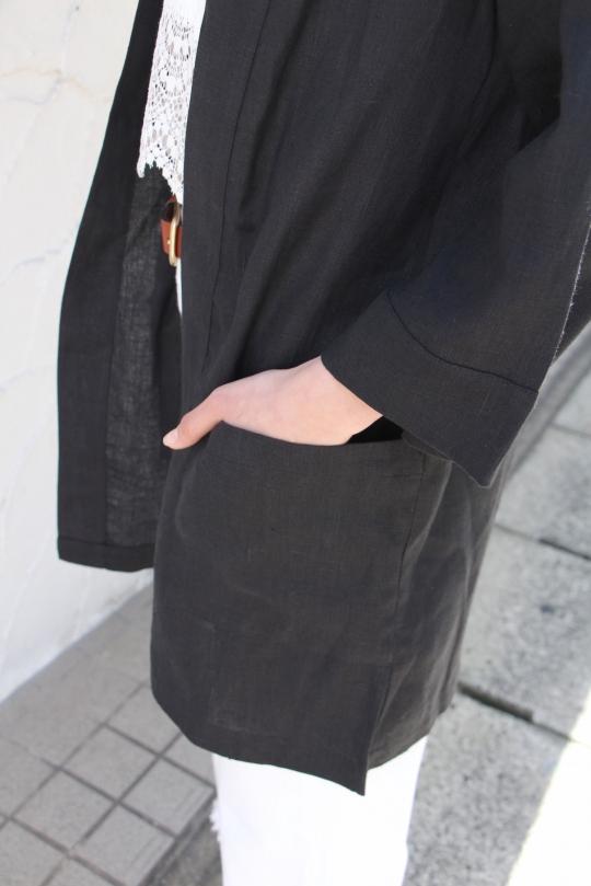 whimsy+row black linen JK