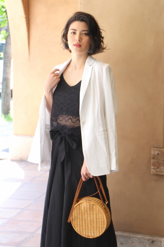 LaLaLei black lace bustier