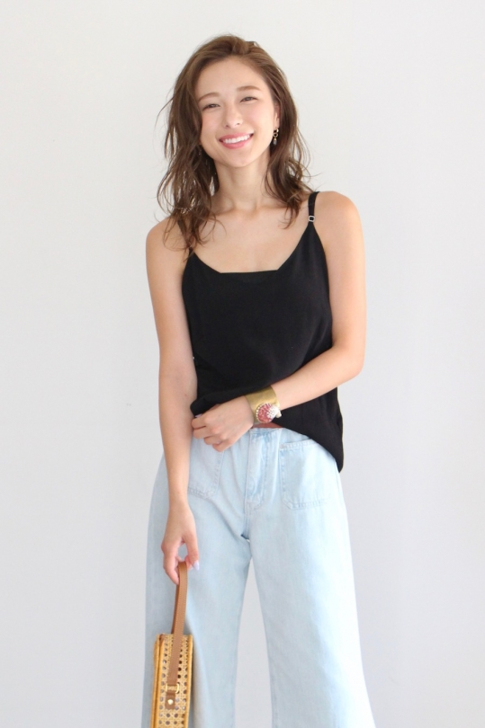 whimsy+row black camisole