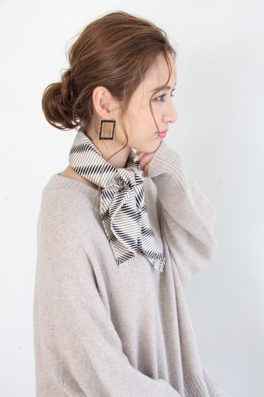 RITA ROW beige scarf
