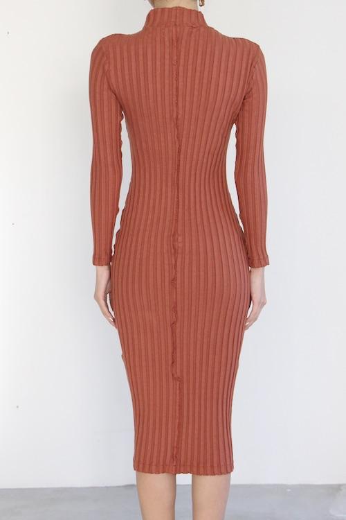 AMVi collection knit orange OP