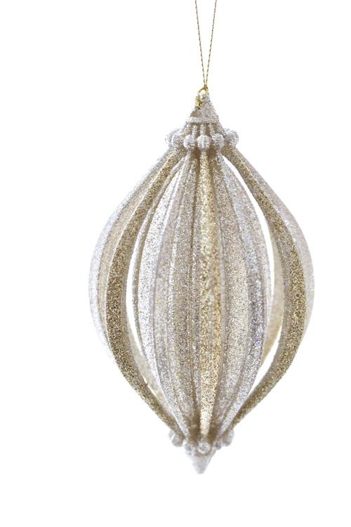 KURTS ADLER curving glitter ornaments
