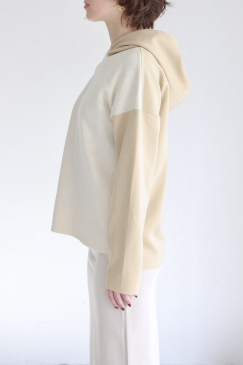 LaLaLei hoodie parker white TOPS