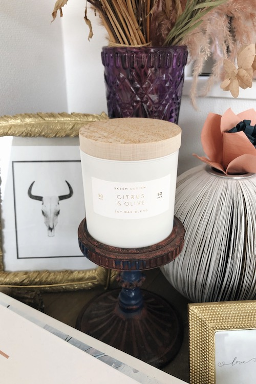 Skeem Soy wax blend Candle