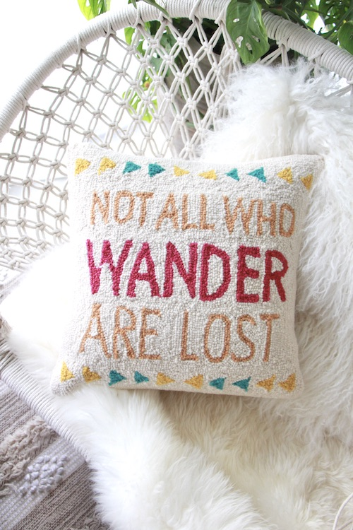 PEKING HANDICRAFT ''Not all who wonder are lost''