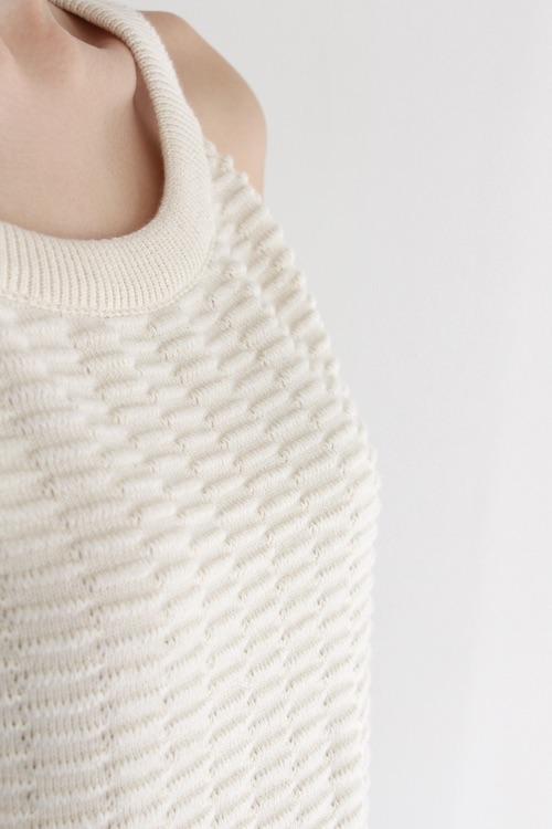 mila.vert   Summer knit  white camisole