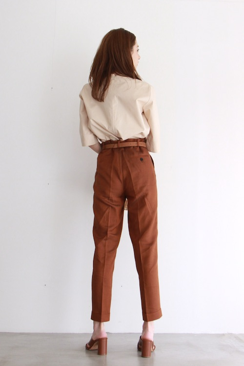 Leon&Harper High-waist  brown PTS