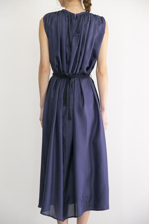 roberto collina navy sleeve dress
