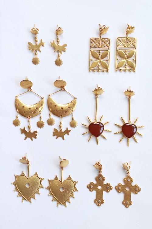 ikkelele CRUZ DE TALAVERA earrings
