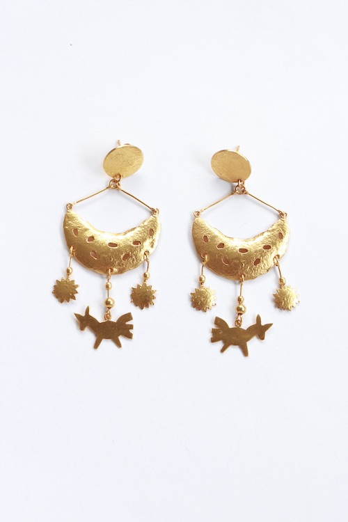 ikkelele FRIDA & UNICOCK earrings