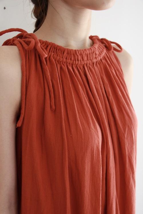 Leon&Harper orange organic cotton dress