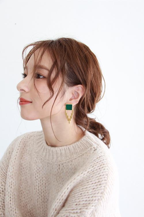 ikkelele EMPIRE STATE NY earrings