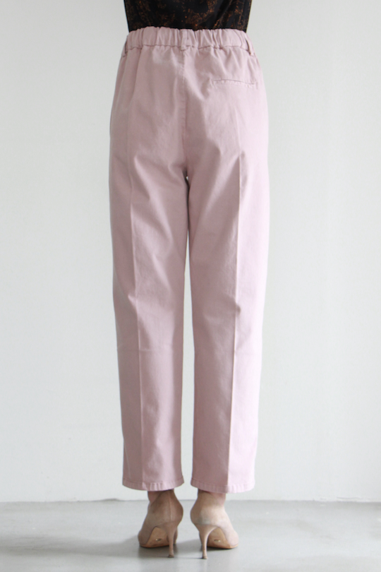 ALYSI suede pink tapered pts