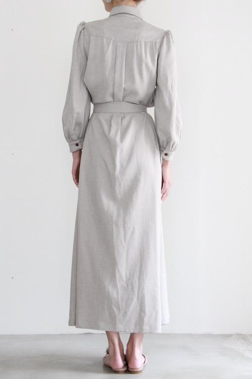 LaLaLei shirt puff sleeve dress