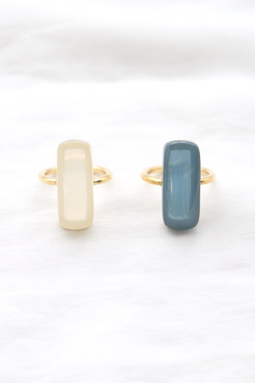LUCAS JACK resin stick ring