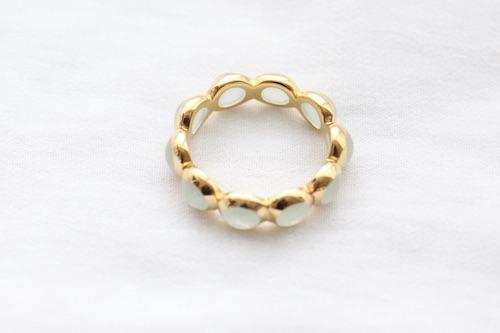 LUCAS JACK resin round ring