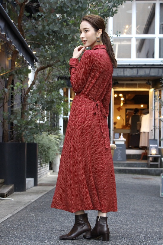 indi&cold Red Dot shirt dress