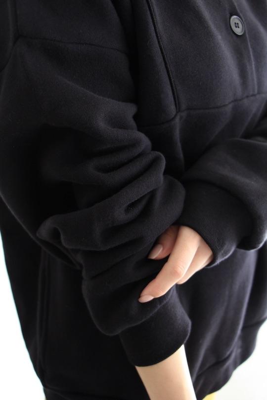 RITA ROW Black sweat tops