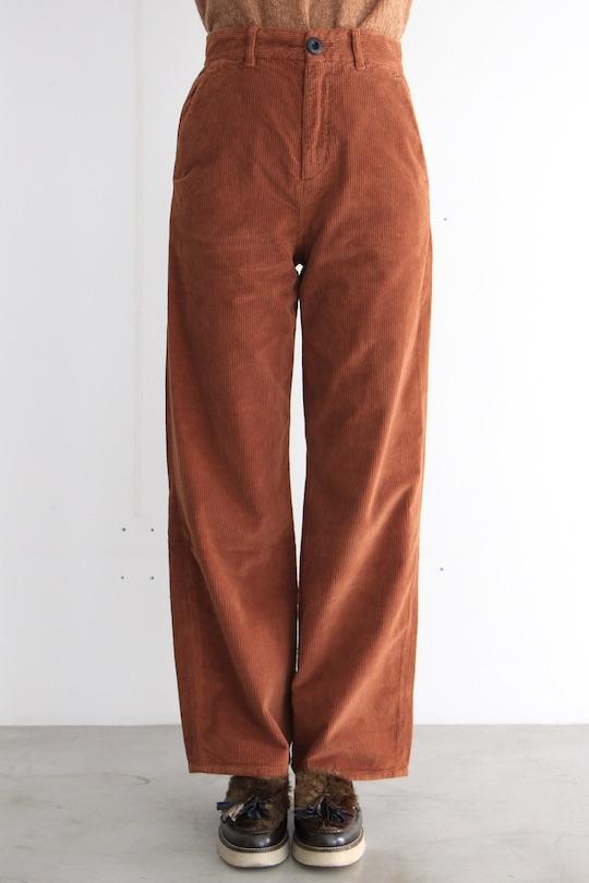 Leon&Harper high waist corduroy pants