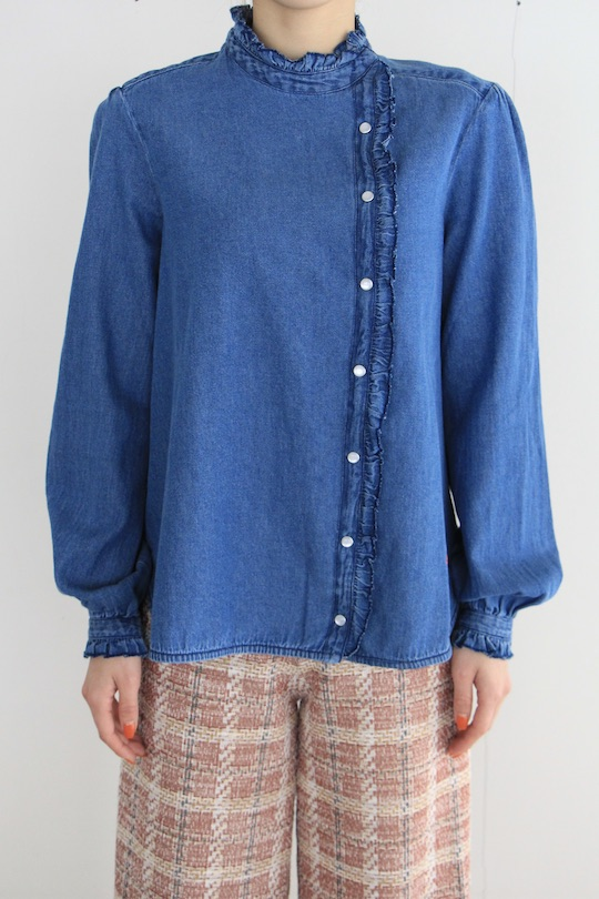 Leon&Harper asmmetry dungaree bluse