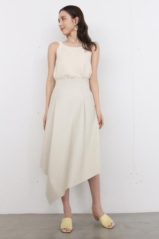 RINASCIMENTO Faux leather skirt