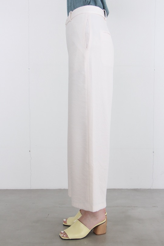indi&cold White wide pants