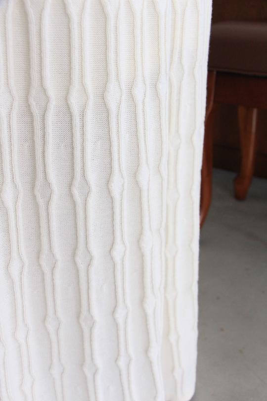 JAN 'N JUNE organic cotton white knit dress