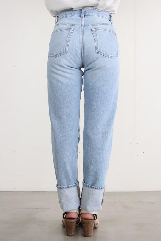 Leon&Harper straight cotton denim pts