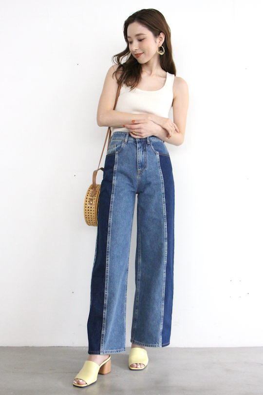 JUST sideline denim pants