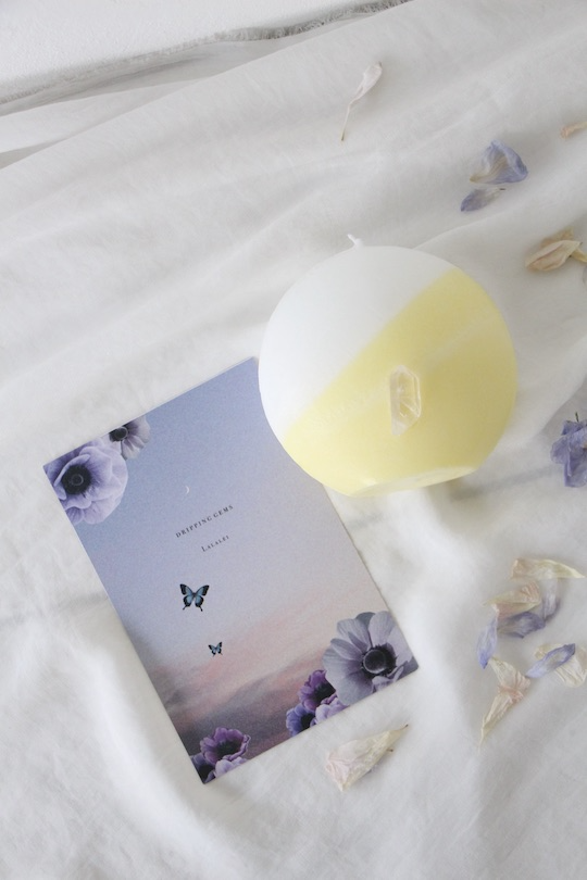 LaLaLei Dripping gems candle