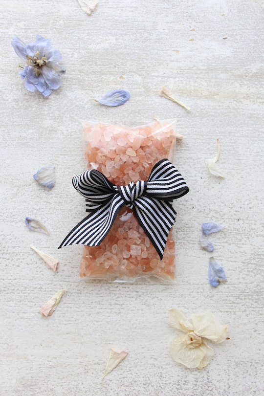 LaLaLei  bath salt with Crystals(refill pack)