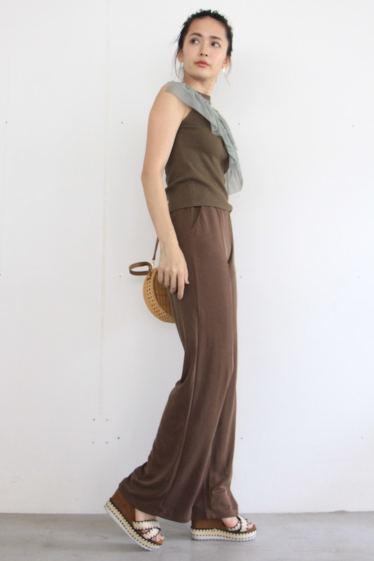 SIMPLE relax brown wide pts