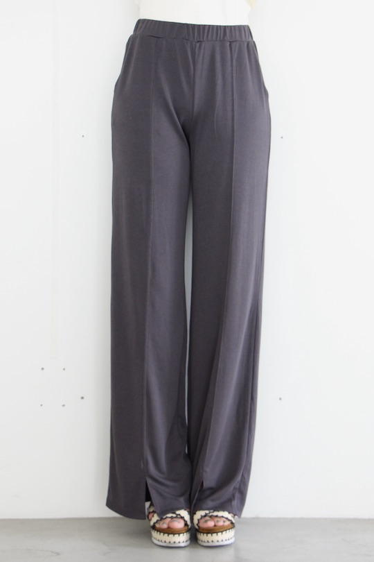 SIMPLE relax gray wide pts