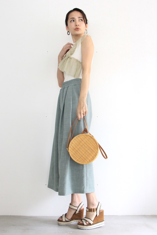 LaLaLei summer wide pts green