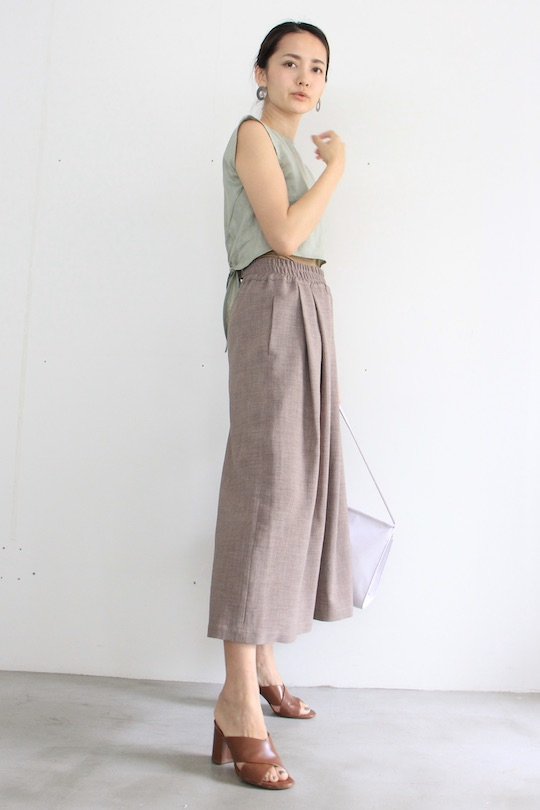 LaLaLei summer wide pts brown