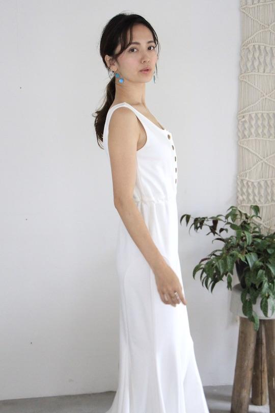 LaLaLei mermaid white dress