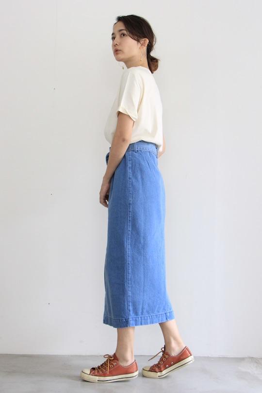RITA ROW denim skirt blue