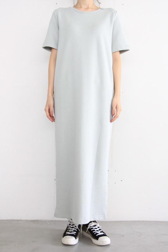 JAN 'N JUNE green sweat half-sleeve dress