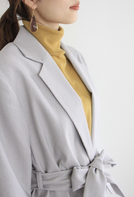 JUST waist ribbon jacket